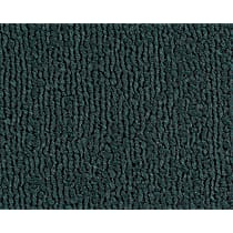 Front Carpet Kit - Green, Loop carpet