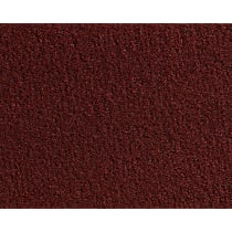 Front Carpet Kit - Red, Carpet