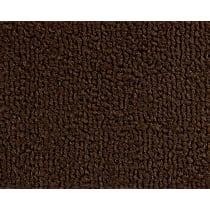 240-0411610 Front Carpet Kit - Brown, Loop carpet