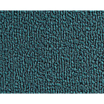 Front Carpet Kit - Blue, Loop carpet