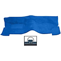 245-0211170 Front Carpet Kit - Blue, Carpet