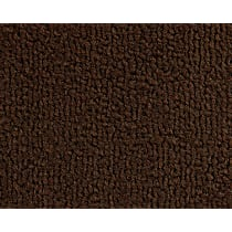 245-0211610 Front Carpet Kit - Brown, Loop carpet