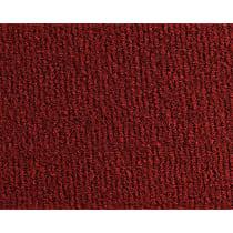 Front Carpet Kit - Red, Carpet