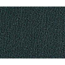 Front and Rear Carpet Kit - Green, Loop carpet