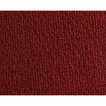 Front and Rear Carpet Kit - Red, Carpet