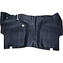 55-4916 Rubber Floor Kit - Black, Rubber, Direct Fit, 1 Piece