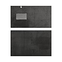 Rear Only Universal Carpet - Dark Gray, Carpet