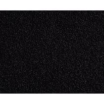 Front and Rear Carpet Kit - Black, Carpet