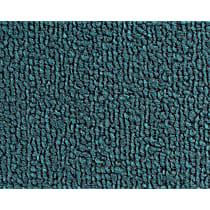 Front and Rear Carpet Kit - Blue, Loop carpet