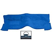 Front Carpet Kit - Blue, Carpet