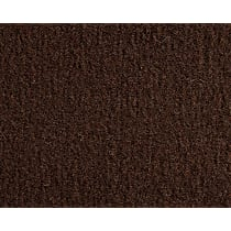 Front and Rear Carpet Kit - Brown, Carpet