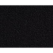 Front Carpet Kit - Black, Loop carpet