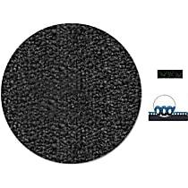 F76-0021701 Front and Rear Carpet Kit - Black, Loop carpet