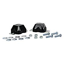 REV218.0036 Front Bump Stop - Black, Polyurethane, Direct Fit, Set of 2