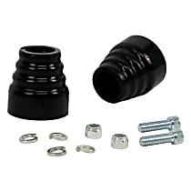 REV218.0038 Rear Bump Stop - Black, Polyurethane, Direct Fit, Set of 2