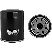 150-2001 Oil Filter - Canister, Direct Fit, Sold individually