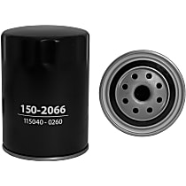 Denso 150-2066 Oil Filter - Canister, Direct Fit, Sold individually