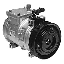 471-0100 A/C Compressor Sold individually With clutch, 6-Groove Pulley