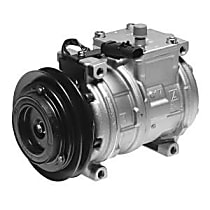 471-0105 A/C Compressor Sold individually With clutch, 1-Groove Pulley