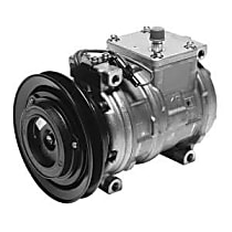 A/C Compressor With clutch, 1-Groove Pulley