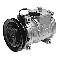 471-0107 A/C Compressor Sold individually With clutch, 1-Groove Pulley