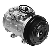 471-0124 A/C Compressor Sold individually With clutch, 1-Groove Pulley