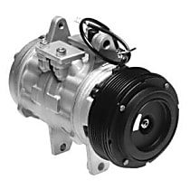 471-0128 A/C Compressor Sold individually With clutch, 6-Groove Pulley