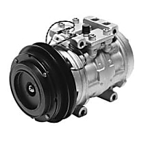 471-0137 A/C Compressor Sold individually With clutch, 1-Groove Pulley