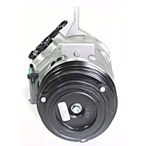 471-0316 A/C Compressor Sold individually With clutch, 4-Groove Pulley