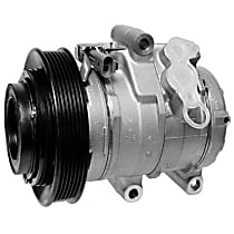 471-0703 A/C Compressor Sold individually With clutch, 6-Groove Pulley