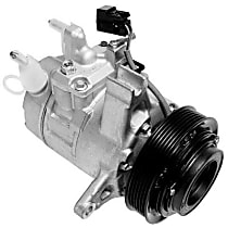 471-0715 A/C Compressor Sold individually With clutch, 6-Groove Pulley