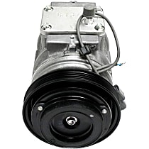 471-1174 A/C Compressor Sold individually With clutch, 4-Groove Pulley