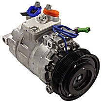 471-1260 A/C Compressor Sold individually With clutch, 6-Groove Pulley