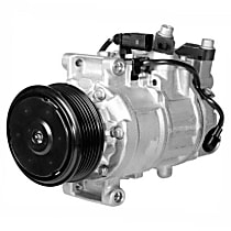 471-1503 A/C Compressor Sold individually With clutch, 6-Groove Pulley