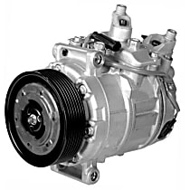 471-1556 A/C Compressor Sold individually With clutch, 7-Groove Pulley