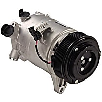 471-5006 A/C Compressor Sold individually With clutch, 7-Groove Pulley