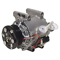 471-7035 A/C Compressor Sold individually With clutch, 6-Groove Pulley