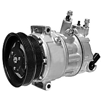471-7058 A/C Compressor Sold individually With clutch, 5-Groove Pulley
