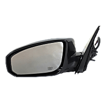 Mirror - Driver Side, Power, Heated, Power Folding, Paintable, With Memory