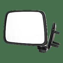 Mirror - Driver Side, Folding, Chrome, Black Base