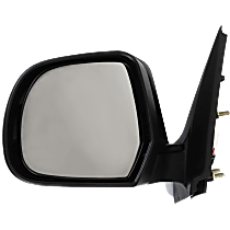Mirror - Driver Side, Power, Folding, Paintable, For Sedan
