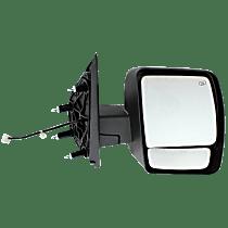 Mirror Heated - Passenger Side, Power Glass, Textured Black