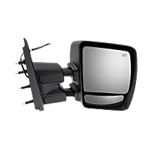 Towing Mirror Heated - Passenger Side, Power Glass, Chrome