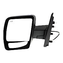 Mirror Heated - Driver Side, Power Glass, Chrome