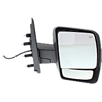 Mirror Heated - Passenger Side, Power Glass, Chrome