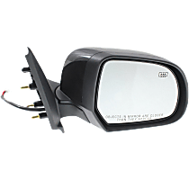 Mirror - Passenger Side, Power, Folding, Heated, Folding, Paintable, For Sedan