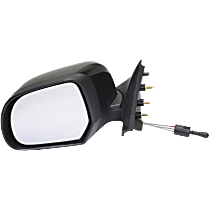 Mirror - Driver Side, Folding, Paintable, For Sedan