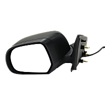 Mirror - Driver Side, Power, Folding, Textured Black, With Turn Signal and Puddle Lamp, For Sedan