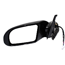 Mirror - Driver Side, Power, Heated, Folding, Paintable, With Turn Signal, and Memory