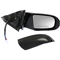 Mirror - Passenger Side, Power, Heated, Folding, Paintable, With Turn Signal, and Memory